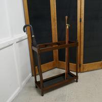 Victorian Mahogany Stick & Umbrella Hall Stand (2 of 4)