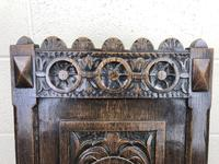 19th Century Carved Oak Hall Chair (3 of 9)
