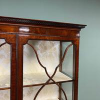 Spectacular Edwardian Chippendale Design Antique Display Cabinet (6 of 9)