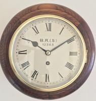 Eight Day Fusee British Rail Railway Clock (5 of 9)
