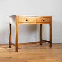 Vintage Mid Century 2 Drawer Oak Desk by Gordon Russell (9 of 14)