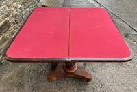 Regency Rosewood Card Table (10 of 24)