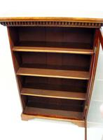 Good Quality Early Victorian  Walnut Glazed Bookcase (12 of 20)