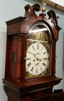 19th Century Mahogany Longcase Clock (8 of 9)