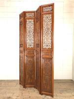 Chinese Elm Carved Screen (7 of 13)