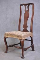 Pair Of Early 18th Century Walnut Side Chairs (8 of 8)