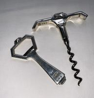 Art Deco Silver Corkscrew & Bottle Opener (5 of 7)