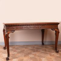 Superb Quality Mahogany Chippendale Design Writing Table (13 of 23)