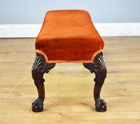 Antique Queen Anne Style Foot Stool (6 of 8)