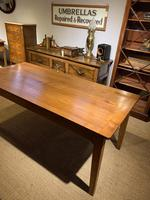 Farmhouse table cherry wood 71 inches long (4 of 11)