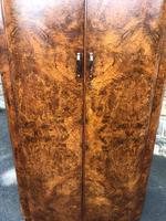 Art Deco Burr Walnut  Wardrobe (5 of 11)