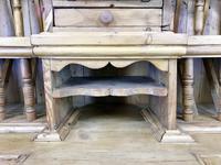 Unusual Victorian Antique Pine Chicken Coop Dresser (8 of 16)