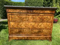 French Louis Philippe Commode in Figured Walnut (9 of 9)