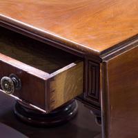 George IV Mahogany Sofa Table (8 of 9)