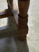 Rustic French Oak 19th Century Farmhouse Kitchen Table (26 of 31)
