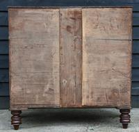 Fine Quality, Georgian Mahogany Bow Fronted Chest of Drawers (16 of 16)