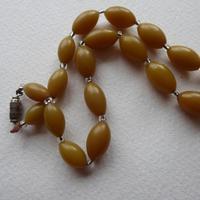 Butterscotch Bakelite Bead Necklace (5 of 7)