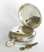 Antique silver Waltham pocket watch (6 of 6)