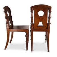 Pair of English Hall Chairs (2 of 6)
