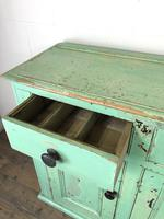 Victorian Antique Pine Painted Dresser Base Sideboard (7 of 14)