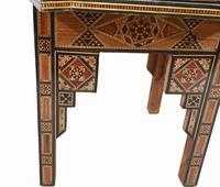 Pair of Damascan Chairs Inlay Arabic Syrian Interiors c.1920 (10 of 12)