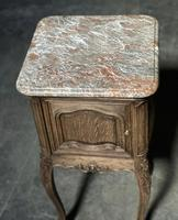 Pair of French Marble Top Bedside Cupboards (6 of 26)