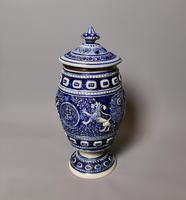 Antique Tobacco Jar, Westerwald, 19th Century (10 of 13)