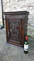 Carved Oak Wall Cupboard (6 of 8)