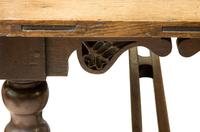 19thc English Oak Refectory Table c1850 (8 of 9)