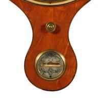 """Georgian Satinwood 10"""" Dial Barometer (4 of 8)"""
