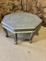 Indian Silvered Coffee Table (6 of 6)