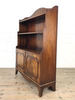 20th Century Reproduction Mahogany Bookcase (7 of 9)