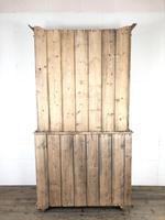 Antique Victorian Pine Dresser with Glazed Top (10 of 13)