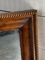 19th Century French Burr Walnut Wall Mirror (4 of 19)
