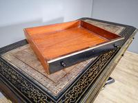 19th Century Art & Crafts Library Table (8 of 12)