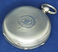 Antique Silver Pocket Watch Keyless Wind Open Face Pocket Watch Kay & Comp (2 of 10)