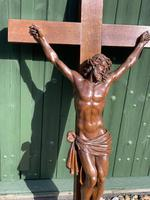 Large Oak Crucifix (2 of 6)
