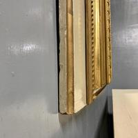 Large French Paint & Gilt Trumeau Mirror (11 of 11)