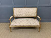 19th Century French Giltwood Settee