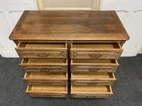 Stylish French Oak Chest of Drawers (8 of 18)