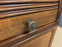 Maple & Co Inlaid Mahogany Tambour Cylinder Desk (9 of 22)