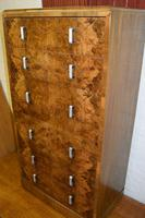 Large Art Deco Six Drawer Chest of Drawers (9 of 12)