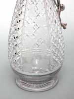 Silver Plated Claret Jug with a Spring Action Operated Hinged Lid (4 of 4)