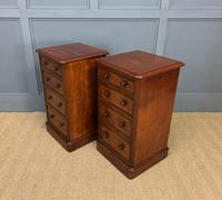 Pair of Victorian Mahogany Bedside Chests (4 of 16)