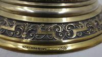 Antique Silver Parcel Gilt Claret Jug. 800 Standard c.1880 (8 of 9)