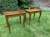 Pair of Walnut Side Tables (4 of 6)