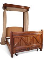 Oak Half Tester Bed (6 of 19)