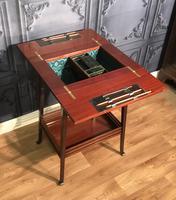Edwardian Inlaid Mahogany Sewing Box (9 of 11)