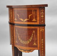 19th Century Mahogany Inlaid Side Table (3 of 11)