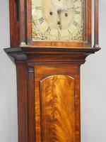 George III Inlaid Mahogany Grandfather Clock by G Brown, Edinburgh (8 of 12)